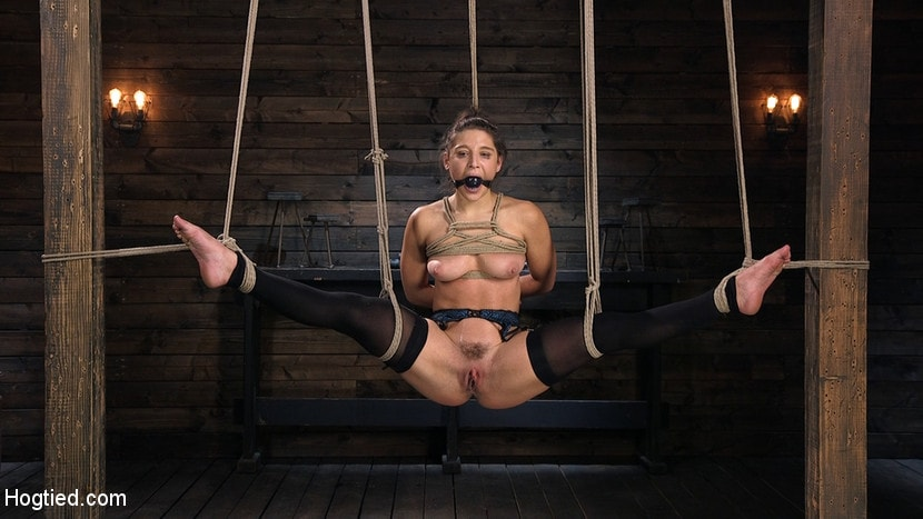 Abella Danger - Hot Body Abella Danger Disciplined and Made to Cum in Rope Bondage!! | Picture (5)
