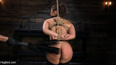 Abella Danger - Hot Body Abella Danger Disciplined and Made to Cum in Rope Bondage!! | Picture (2)