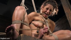 Abella Danger - Hot Body Abella Danger Disciplined and Made to Cum in Rope Bondage!! | Picture (8)