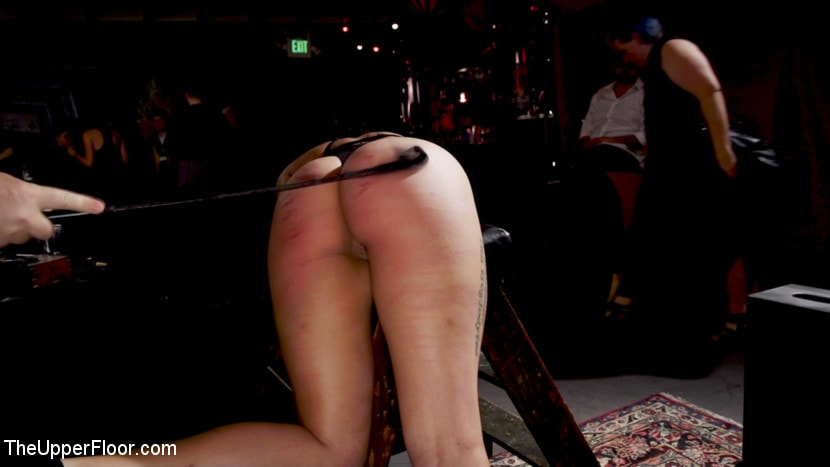 Aiden Starr - Anal Sluts Tied Down for Service at BDSM Swinger Party | Picture (17)
