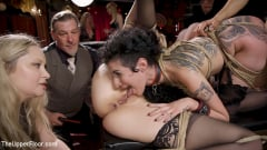 Aiden Starr - Anal Sluts Tied Down for Service at BDSM Swinger Party | Picture (22)