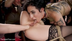 Aiden Starr - Anal Sluts Tied Down for Service at BDSM Swinger Party | Picture (28)