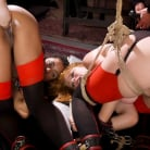 Aiden Starr in 'BDSM Swinger Orgy Served by the Anal Servant Girls'
