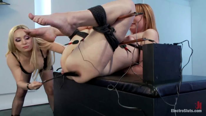Aiden Starr in Claire Robbins Double Stuffed By Electr ...