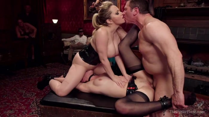 Aiden Starr in Latex Slave Girl Anally Debased By Dick ...