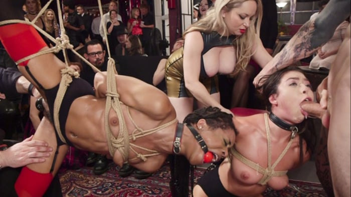 Aiden Starr in Nympho Slave Slut Soaks The Folsom Orgy ...