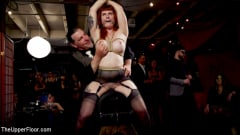 Aiden Starr - Teen Anal Slut Turned Out For Service at BDSM Swinger Soiree | Picture (17)