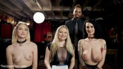 Aiden Starr - Teen Anal Slut Turned Out For Service at BDSM Swinger Soiree | Picture (28)