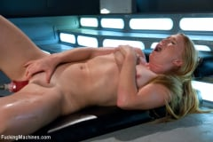 Ami Emerson - Sending the Ginger Girl into Cum Space with The Fucking Machines | Picture (4)
