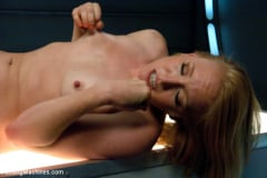 Ami Emerson - Sending the Ginger Girl into Cum Space with The Fucking Machines | Picture (6)