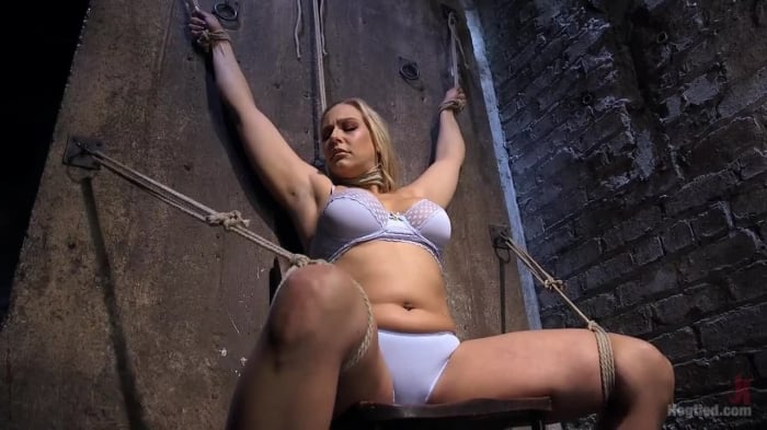 Angel Allwood in Big Tit Blonde MILF Bound, Tormented, ...
