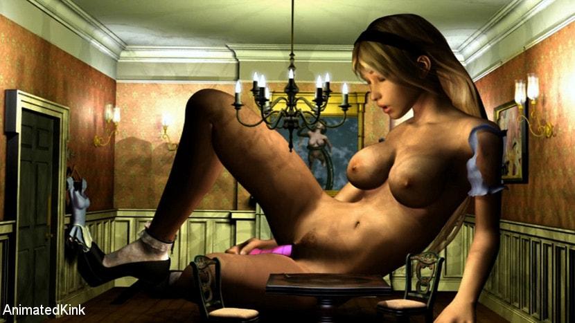 Порно мультики 3д алиса