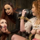 Bella Rossi in 'Young New Slave Brutally Inducted Into The Redhead Lesbian Dungeon'
