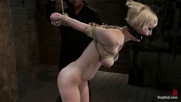 Cherry Torn in Hot Blond with PERFECT BODY, natural ti ...