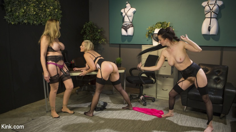 Cherry Torn - HUSH Ep8: Angel Allwood Gets DP'd By Cherry Torn and Julia Ann | Picture (8)