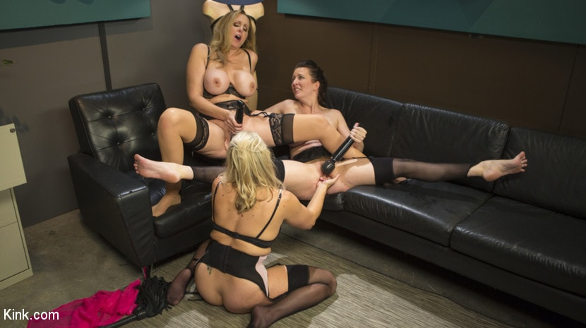 Cherry Torn - HUSH Ep8: Angel Allwood Gets DP'd By Cherry Torn and Julia Ann | Picture (19)