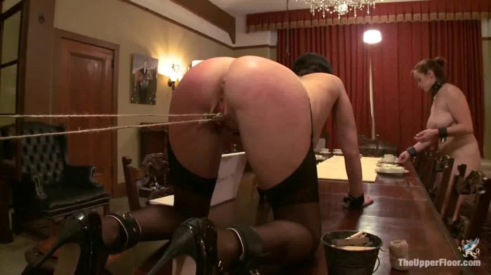 Cherry Torn in Service Session: Domestic Training