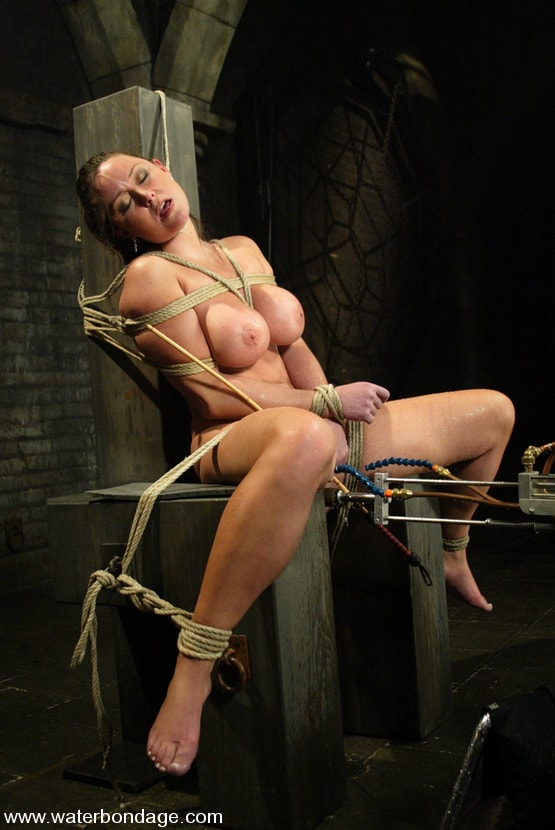 Homemade gag bondage gear at home