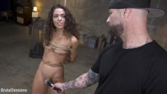 Cyrus King - Petite Fresh Faced Whore Victoria Voxx Bound in Rope and Brutal Fucked | Picture (3)
