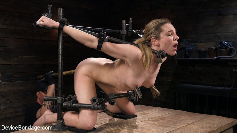 Dahlia Sky - Blonde Damsel is Distressed in Brutal Devices and Tormented | Picture (4)