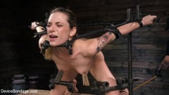 Dahlia Sky - Blonde Damsel is Distressed in Brutal Devices and Tormented | Picture (2)