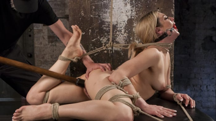 Dahlia Sky in Dahlia Sky Submits to Punishing Bondage  ...