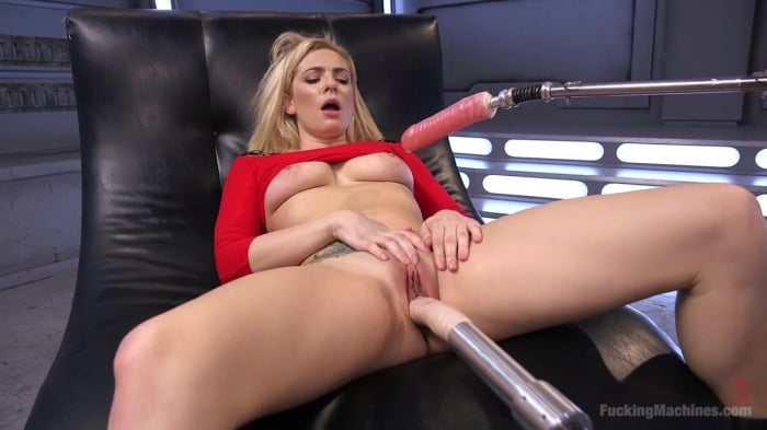 Dahlia Sky in Stunning Blonde Babe Gets Fucked Into Ob ...