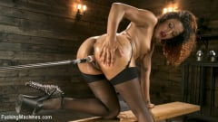 Daisy Ducati - Ebony Squirt Queen Daisy Ducati Gets Royal Fucking Machines Treatment! | Picture (9)