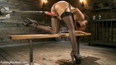 Daisy Ducati - Ebony Squirt Queen Daisy Ducati Gets Royal Fucking Machines Treatment! | Picture (11)