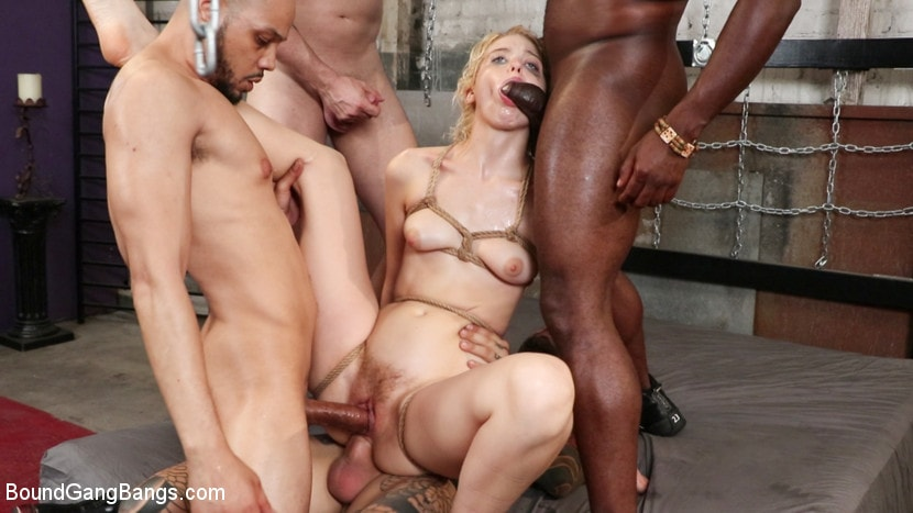 Donny Sins - Wedding Nightmare: Chloe Cherry Gets Fucked by Fiance's Five Friends | Picture (17)