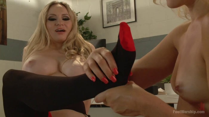 Dylan Ryan in Naughty Foot Nurses: Part 2