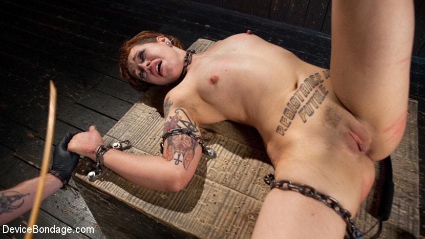 Slut chained