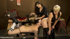 Helena Locke - Lazy Mechanic Nikki Hearts Gets Tag-Teamed by Boss and Client | Picture (10)