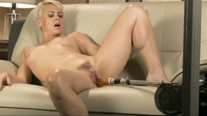 Helena Locke in Sexy Blonde Cougar Takes Our Machines  ...