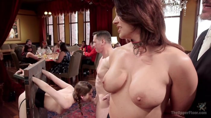 Holly Heart in Anal MILF trains Young Maid to worship  ...