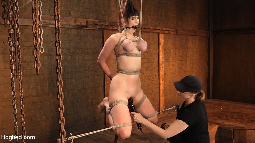 Bondage big tit photos