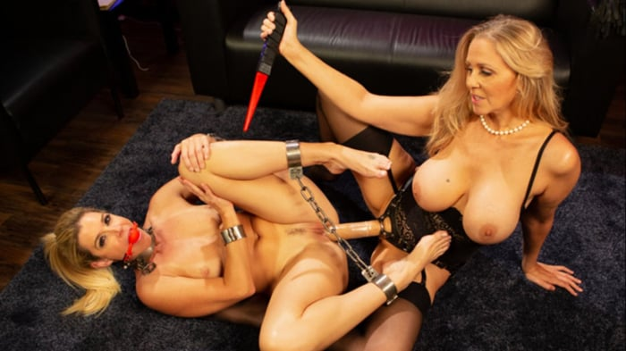 Julia Ann in Hot Under Her Spell: Julia Ann dominates  ...