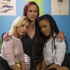 Kira Noir in 'HUSH Ep 1: Eliza Jane Ensnared in 3-way Lesbian Blackmail'