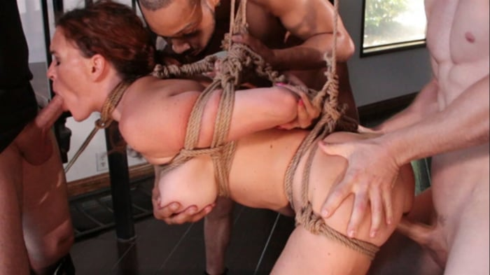 Krissy Lynn in Krissy Lynn Horny at Home Gets Tied Up  ...
