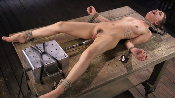 Kristen Scott in Girl Next Door Bound and Machine Fuck ...