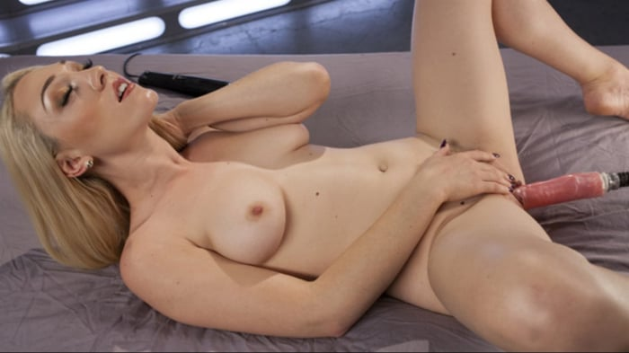 Lily LaBeau in Hot Blond Lily LaBeau is Machine Fucked