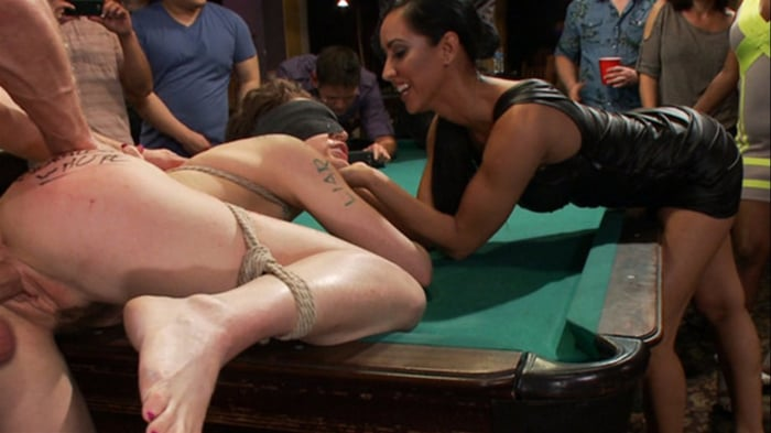 Lily LaBeau in Lily LaBeau gets played in raunchy Pool ...