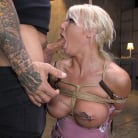 London River in 'Pain Slut MILF London River Brutalized with Rough Sex and Rope Bondage'
