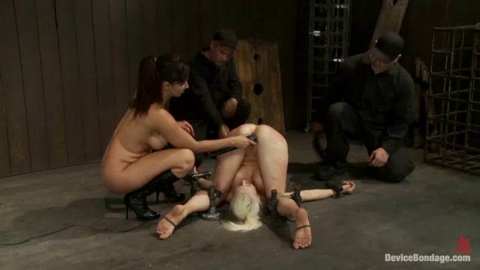 Lorelei Lee in Hot Blond, is caned, ass fucked and mad ...
