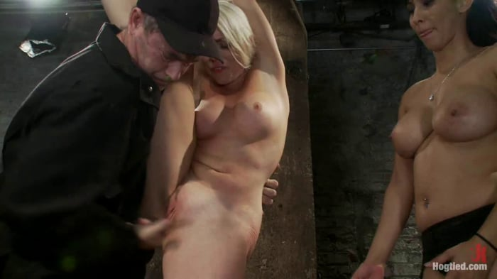 Lorelei Lee in We yank a leg up, cane her then make he ...