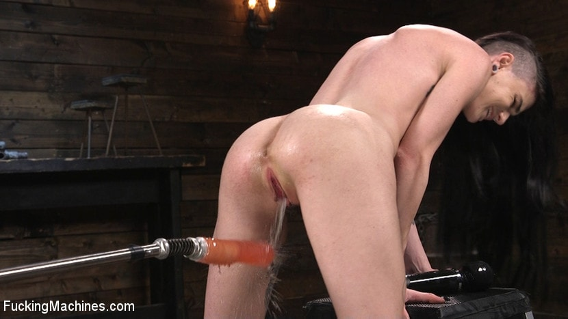 Lydia Black - Slender Brunette Newcomer Gets Her First Taste | Picture (1)