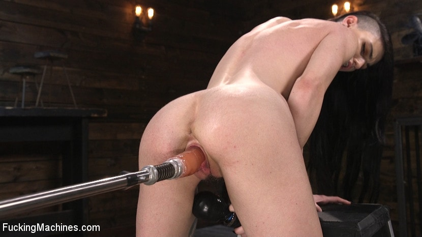 Lydia Black - Slender Brunette Newcomer Gets Her First Taste | Picture (14)