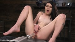 Lydia Black - Slender Brunette Newcomer Gets Her First Taste | Picture (4)