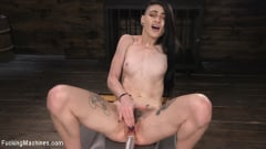 Lydia Black - Slender Brunette Newcomer Gets Her First Taste | Picture (8)