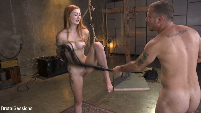 Megan Winters - Redheaded Girl Next Store Megan Winters Fucked in Brutal Rope Bondage! | Picture (11)